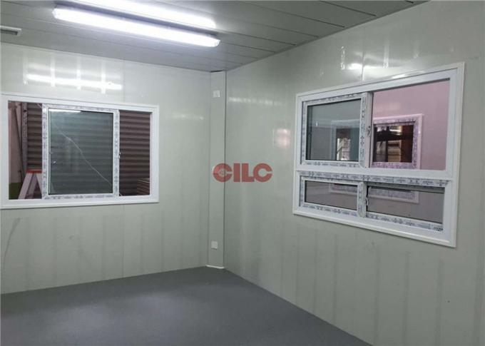 PU Panel Flat Pack Prefab Container Homes Easy Assemble Energy Saving