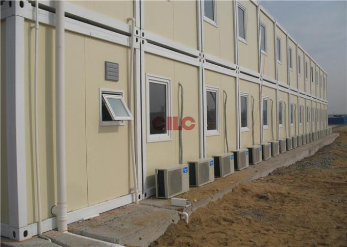 Convenient Easy Moving Prefabricated Office Container With Electricity Box