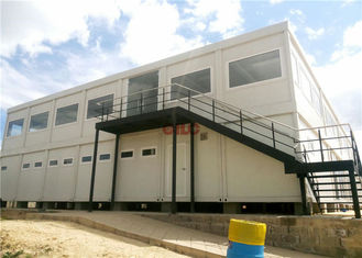 Mineral Wool Panel Mobile Office Containers 20ft Or 40ft With Conference Meeting Room