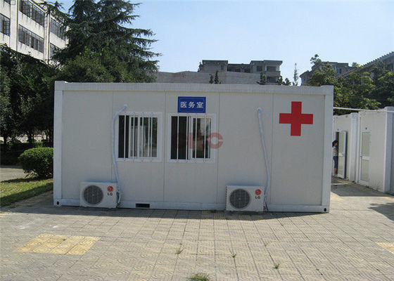 Easy Knock Down Container Clinic Temporary Safety Environment Friendly