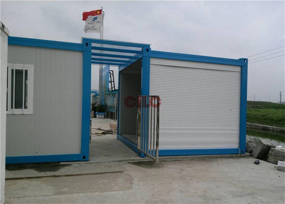Mutifunctional Modular Container Homes Professional Pre Built Steel Structure