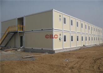 China Convenient Easy Moving Prefabricated Office Container With Electricity Box supplier