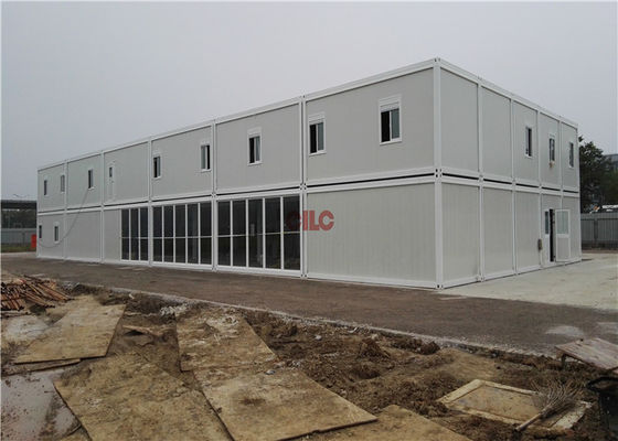 Sandwich Panel Refugee Container Container House Construction For Labor Camp