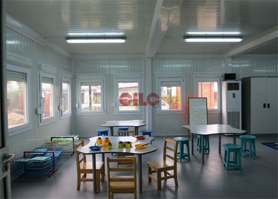 China Sound Insulation Portable Classroom Buildings Environment Friendly For Kindergarden supplier
