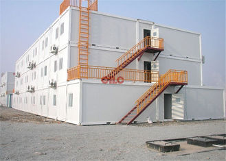 China Three Storey Modular Construction Containers Durable For Oil Gas Camping supplier