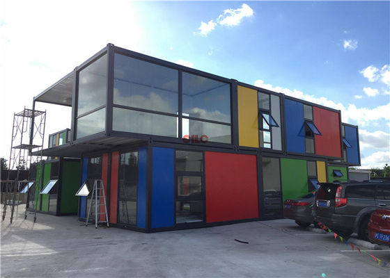 Heat And Water Proof Prefab Container Homes Prefabricated Home Container