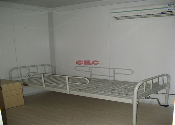 China Prefabricated Modular Container Hospital Portable Hospital Steel Structure supplier