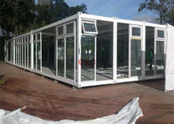 Modular Portable Classroom Buildings 3000mm*9000mm Steel Frame Structure
