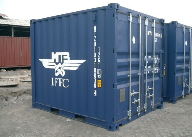 10ft Prefabricated Shipping Container Locker Room
