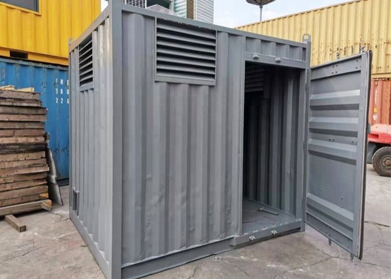 Mini Steel Storage 10ft Small Shipping Container Houses