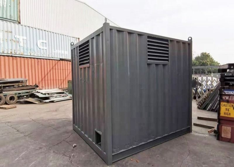 Mini Steel Storage10ft Prefabricated Shipping Container Homes