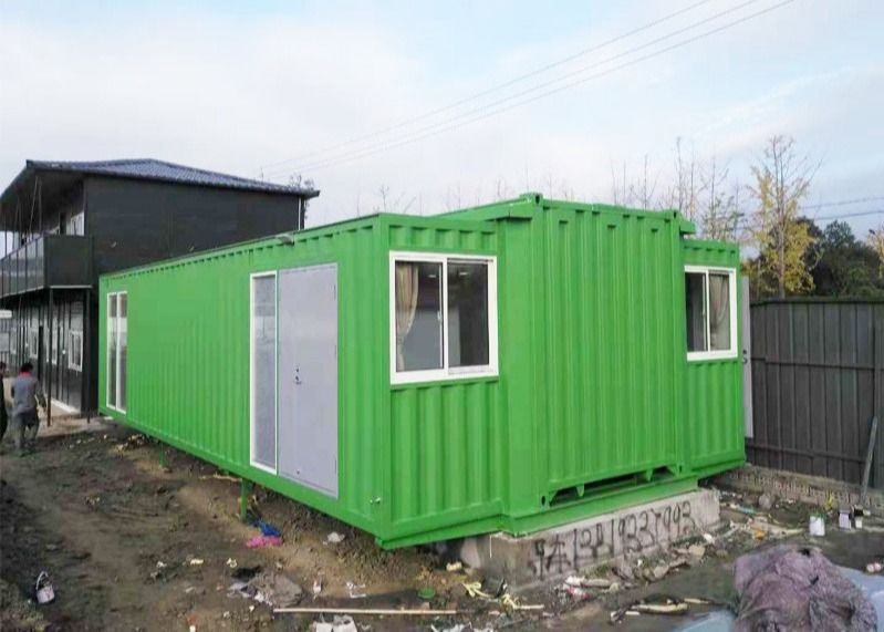 New 40 HC Prefabricated Expandable Shipping Container House