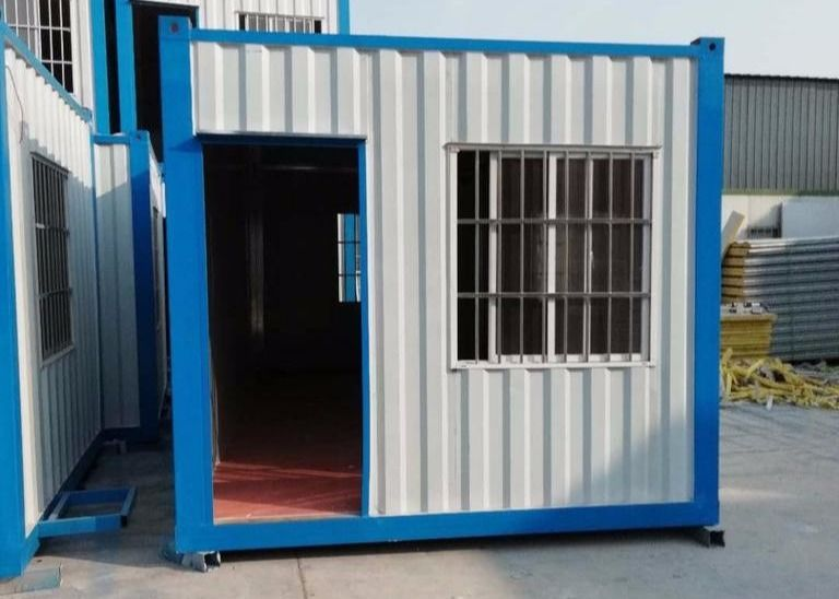 10ft Color Custom Made Curtain Tiny Shipping Container House
