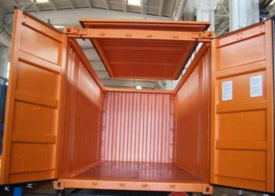 20GP Prefabricated Small Shipping Container Locker Room