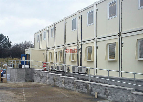 China Flat Pack Folding Prefabricated Building Construction For On - Site Temporary Labor factory