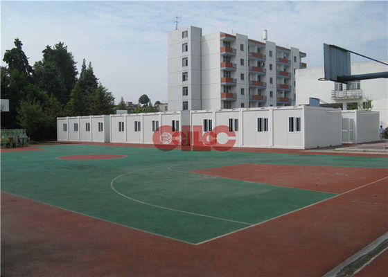 China 20ft 40ft Folding Modular Classroom Buildings Demountable Temporary Classrooms factory