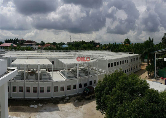 China Two Layers Portacabin Portable Classroom Buildings Prefab Container Building factory